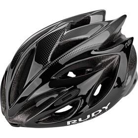 Rudy Project Rush Casco, black/titanium shiny